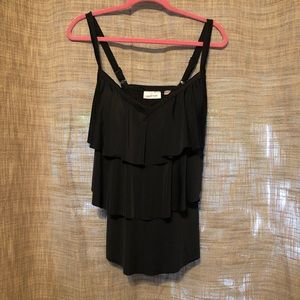 Plus Size 16 Black OnePiece Bathing Suit